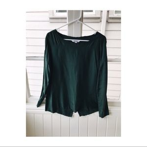 BB Dakota Silky Open Back Blouse